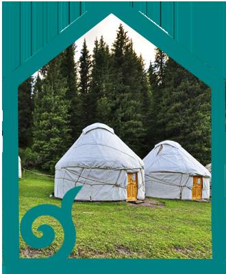 Jety-Oguz nomad lodge